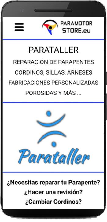 Página Parataller