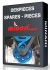 Minari | Despieces | Spares | Pieces