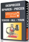 Vittorazi | Despieces | Spares | Pieces