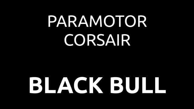 PXP Paramotor - Corsair Black Bull