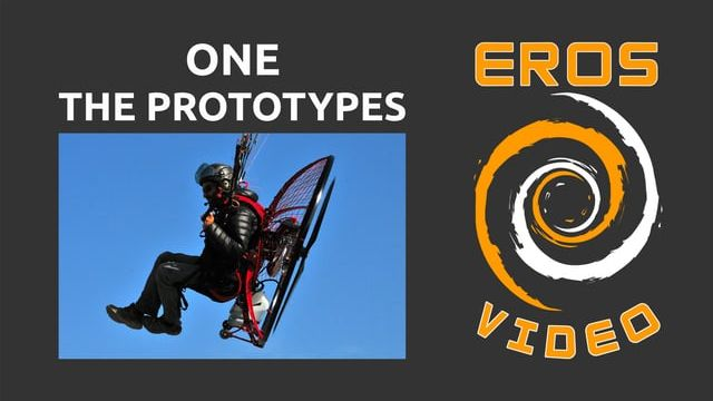 PXP Paramotor - Eros CNC - One - The Prototypes