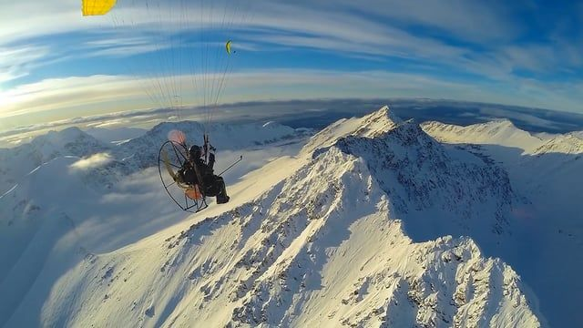 "Paramotor Alaska ""Shoot Across The Sky"""