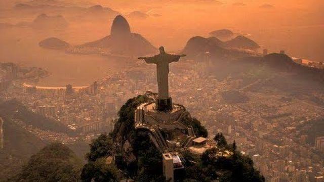 DANILO GARCIA - VOO DE PARAMOTOR NO CRISTO REDENTOR - FLYING OVER CRISTO REDENTOR BRAZIL