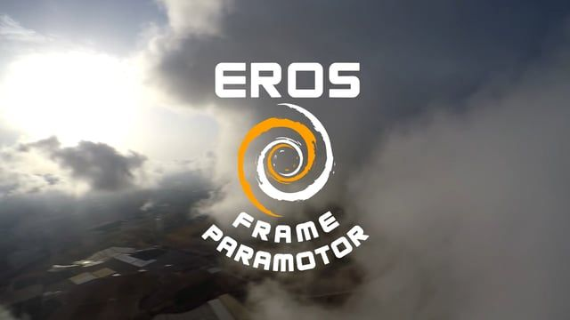 PXP Paramotor - Eros Frame - Walking through the Clouds - Version 2.0